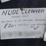 Pro Tip: Nude Cleaner Ad gets 11 applicants a week