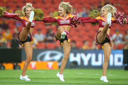 brisbane broncos cheerleaders