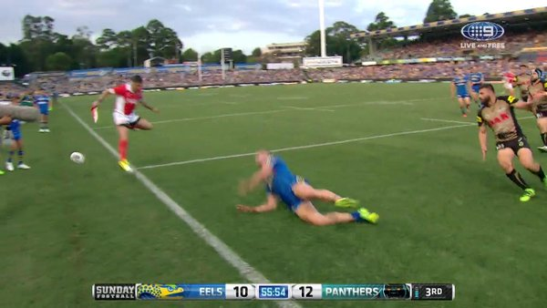 Gutherson drops the ball again