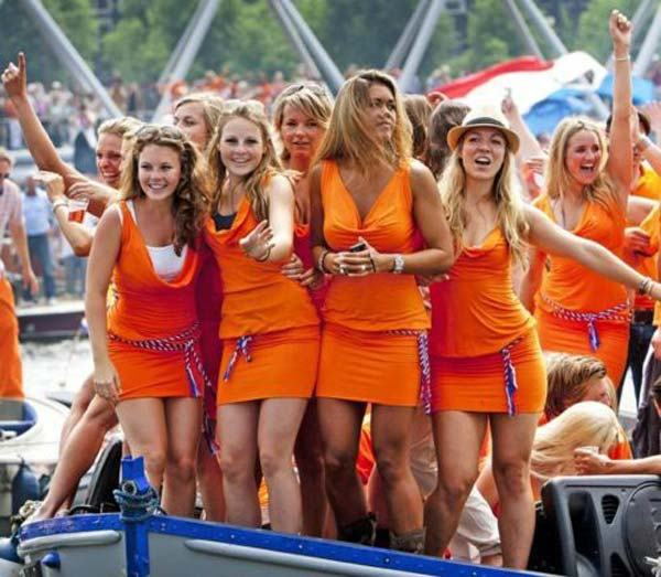 Kings day amsterdam 2