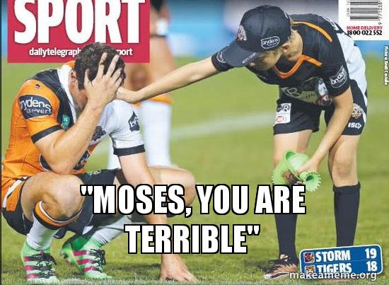 Mitchel Moses You Are Terrible
