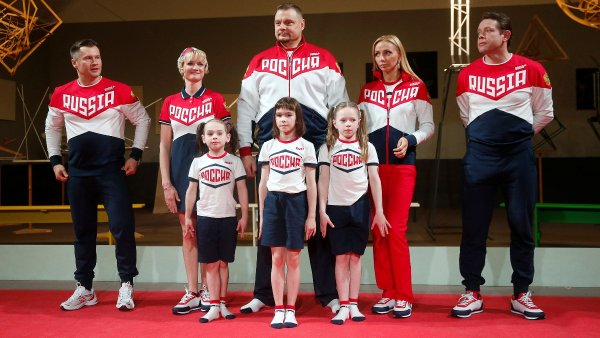 Russia Olympics kit ugly