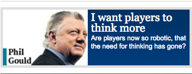 Gus Gould would like you to think more