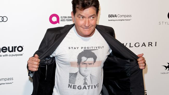 Charlie Sheen Sells Condoms