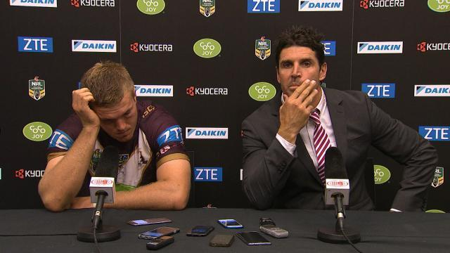 Trent Barrett Press Conference