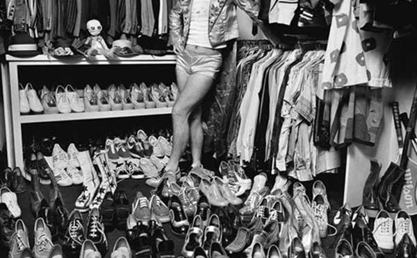 Bon Great Moments In Photography: Elton John In His Shoe Closet U2013 Smiths Daily