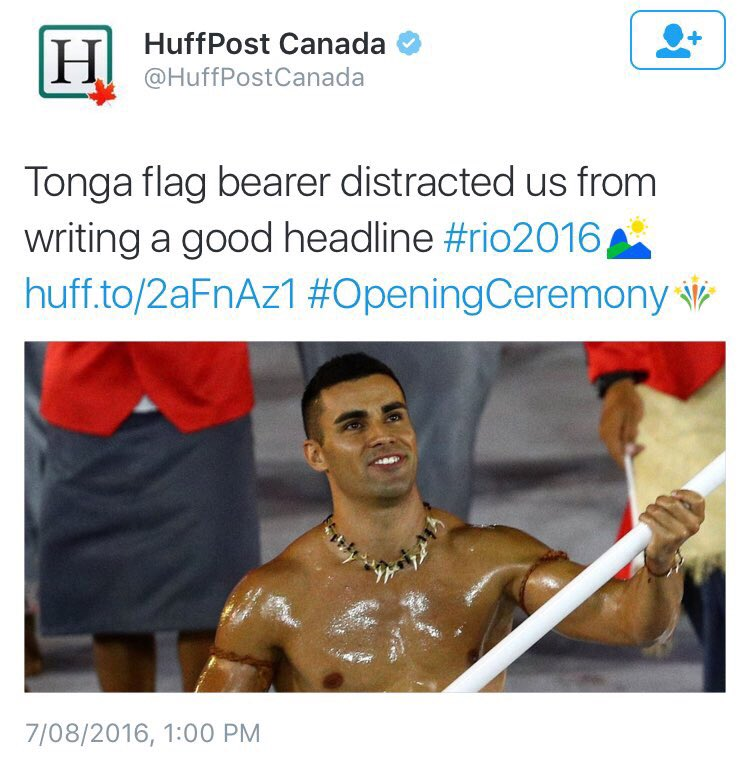 HuffPo need Liz Heron's editorial team to coordinate tweets better
