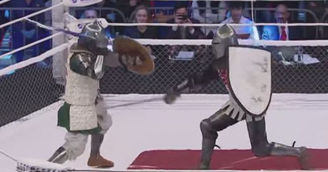 If you haven't been watching Knight Fighting, we can't be friends