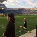 Megan Rapinoe gets out of her lane