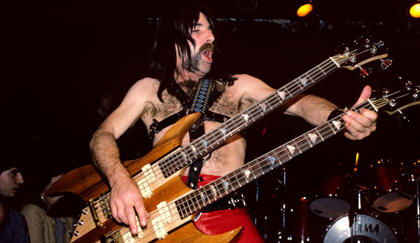 Spinal Tap is not bringing in the big bucks for the bassist