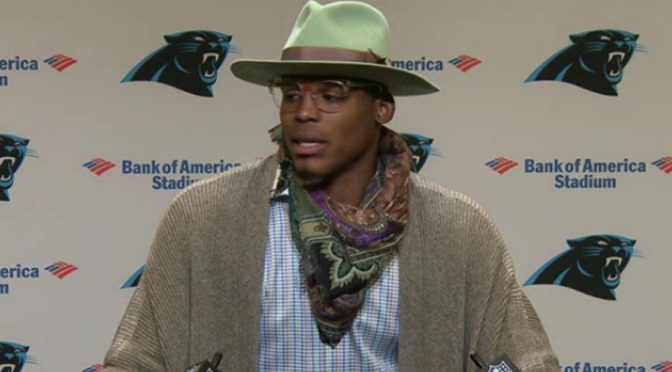 Great Moments in Fashion: Cam Newton, Week 14