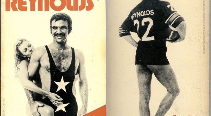 Great Moments in Publishing: Burt Reynolds