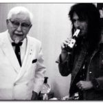 Great Moments in Photography: Colonel Sanders and Alice Cooper