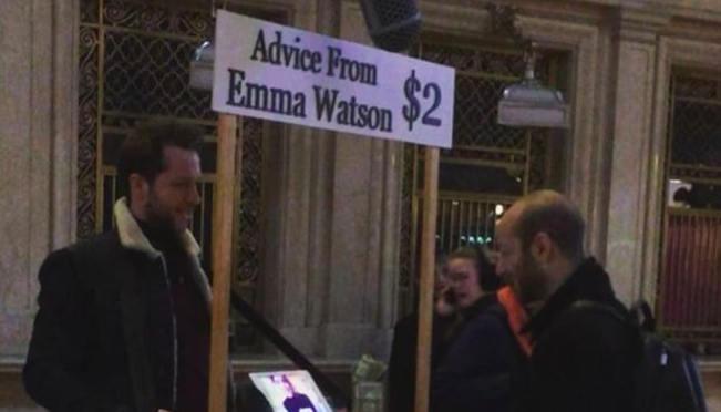 Emma Watson is now making you pay for her to annoy you