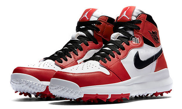 If you like your golf LOUD, try the new Nike Air Jordan Golf shoes