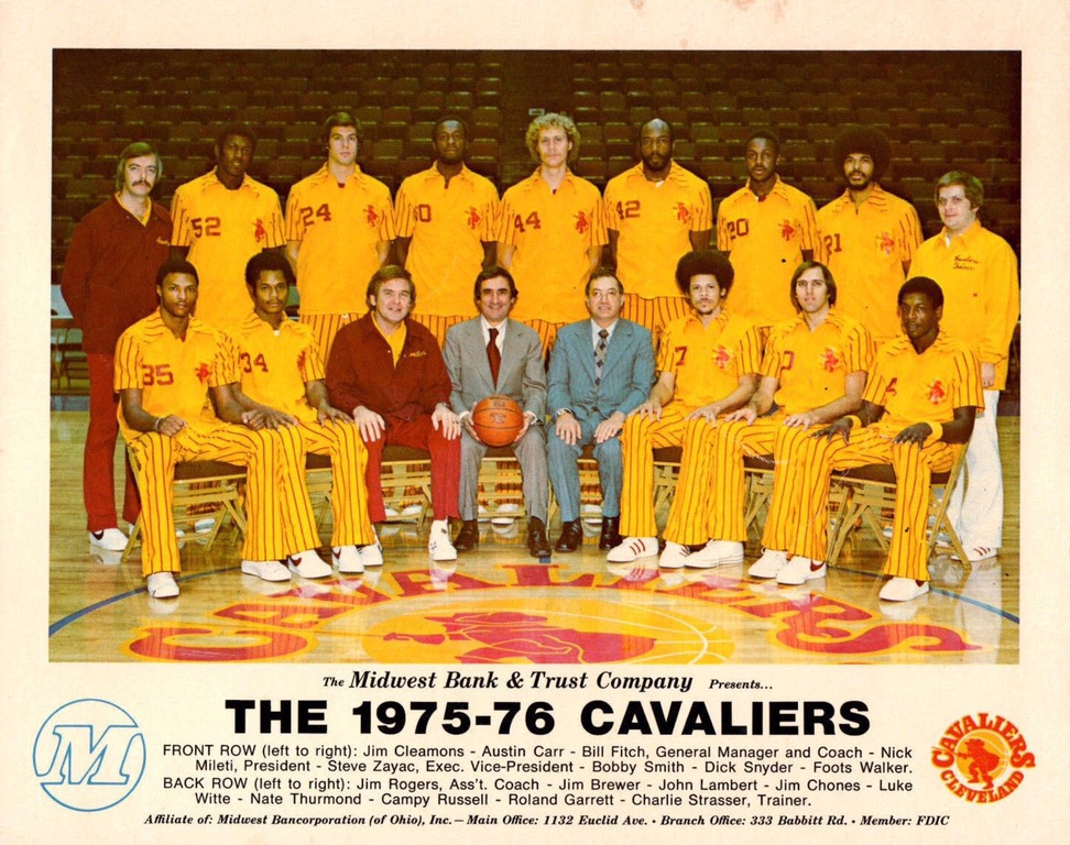 Great Moments In Sports Fashion The 1975 76 Cleveland