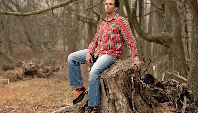 Great Moments in Photography: the NYT does Donald Trump Jr