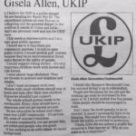 Great Moments in Politics: Gisela Allen's platform is high comedy