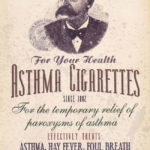 Great Moments in Advertsing: Dr Batty's Asthma Cigarettes