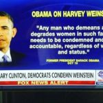 Great Moments in Former Presidents: Barack Obama on Harvey Weinstein