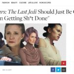 """Elle nails their """"The Last Jedi"""" movie review"""
