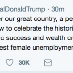 Great Moments in Social Media: Trump encourages Womens March