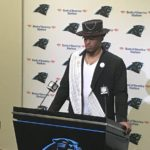 Great Moments in NFL Fashion: Cam Newton, Rich Uncle Pennybags